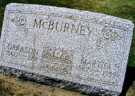 MCBURNEY, MARTHA - Linn County, Iowa | MARTHA MCBURNEY