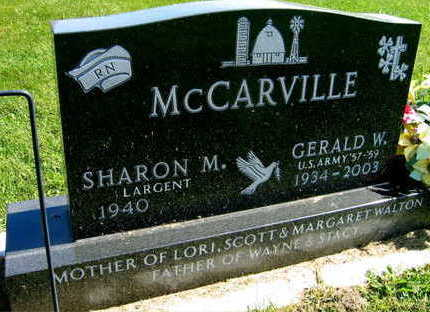MCCARVILLE, GERALD W. - Linn County, Iowa | GERALD W. MCCARVILLE