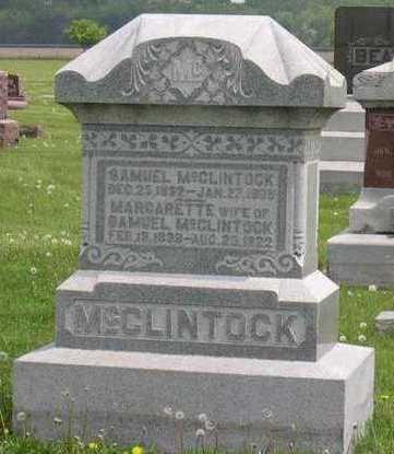 MCCLINTOCK, MARGARETTE - Linn County, Iowa | MARGARETTE MCCLINTOCK