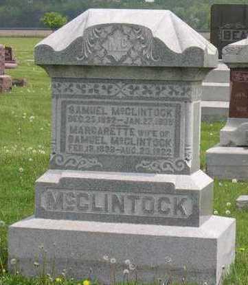 MCCLINTOCK, SAMUEL - Linn County, Iowa | SAMUEL MCCLINTOCK