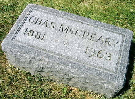 MCCREARY, CHARLES - Linn County, Iowa | CHARLES MCCREARY