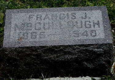 MCCULLOUGH, FRANCIS J. - Linn County, Iowa | FRANCIS J. MCCULLOUGH
