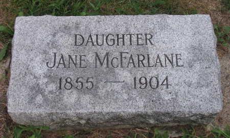 MCFARLANE, JANE - Linn County, Iowa | JANE MCFARLANE