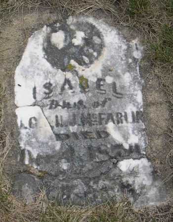 MCFARLIN, ISABEL - Linn County, Iowa | ISABEL MCFARLIN