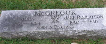 MCGREGOR, JANE - Linn County, Iowa | JANE MCGREGOR