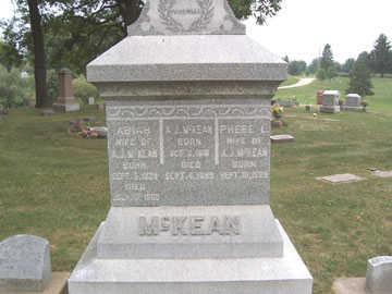 MCKEAN, A. J. - Linn County, Iowa | A. J. MCKEAN