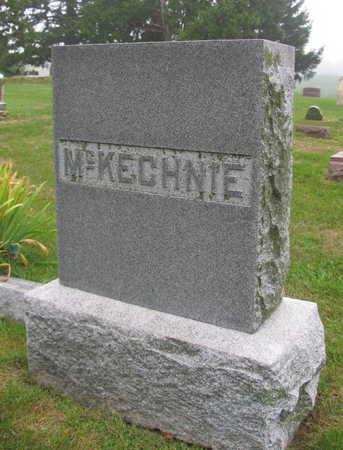 MCKECHNIE, FAMILY STONE - Linn County, Iowa | FAMILY STONE MCKECHNIE
