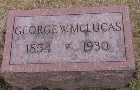 MCLUCAS, GEORGE W. - Linn County, Iowa | GEORGE W. MCLUCAS