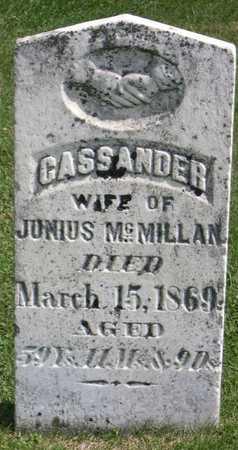 MCMILLAN, CASSANDER - Linn County, Iowa | CASSANDER MCMILLAN