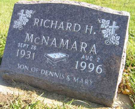 MCNAMARA, RICHARD H. - Linn County, Iowa | RICHARD H. MCNAMARA