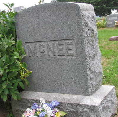 MCNEE, FAMILY STONE - Linn County, Iowa | FAMILY STONE MCNEE