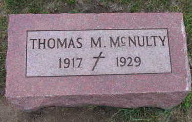MCNULTY, THOMAS M. - Linn County, Iowa | THOMAS M. MCNULTY