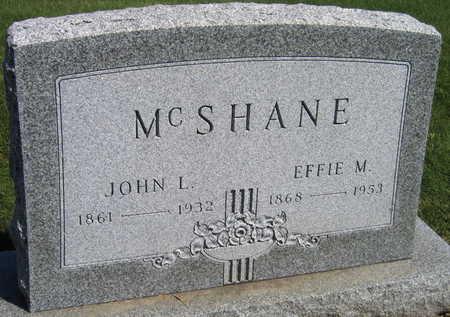 MCSHANE, EFFIE M. - Linn County, Iowa | EFFIE M. MCSHANE