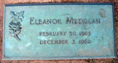 MEDULAN, ELEANOR - Linn County, Iowa   ELEANOR MEDULAN