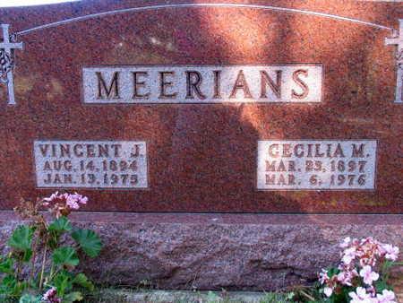 MEERIANS, VINCENT J. - Linn County, Iowa | VINCENT J. MEERIANS