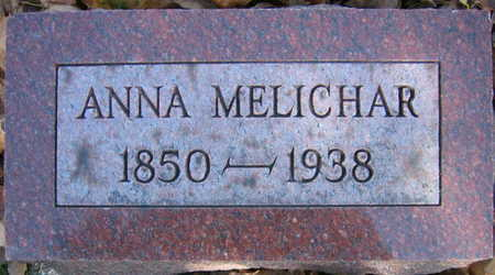 MELICHAR, ANNA - Linn County, Iowa | ANNA MELICHAR