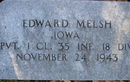 MELSH, EDWARD - Linn County, Iowa | EDWARD MELSH