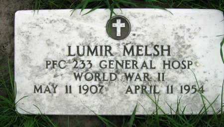 MELSH, LUMIR - Linn County, Iowa | LUMIR MELSH