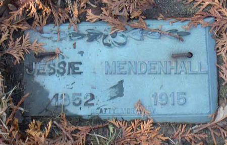MENDENHALL, JESSIE - Linn County, Iowa | JESSIE MENDENHALL
