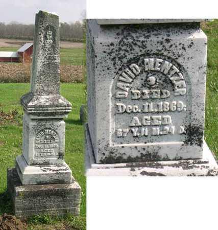 MENTZER, DAVID - Linn County, Iowa   DAVID MENTZER