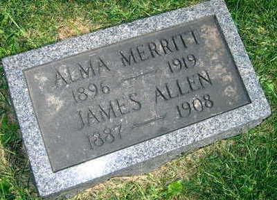 MERRITT, ALMA - Linn County, Iowa | ALMA MERRITT