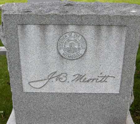 MERRITT, J.B. - Linn County, Iowa | J.B. MERRITT
