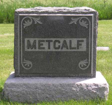 METCALF, FAMILY STONE - Linn County, Iowa | FAMILY STONE METCALF