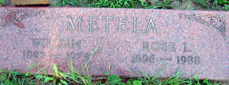 METELA, WILLIAM - Linn County, Iowa | WILLIAM METELA