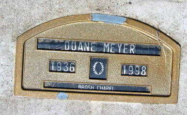 MEYER, DUANE - Linn County, Iowa | DUANE MEYER
