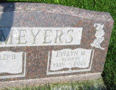 MEYERS, EVELYN M. - Linn County, Iowa | EVELYN M. MEYERS