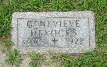 MEYOCKS, GENEVIEVE - Linn County, Iowa | GENEVIEVE MEYOCKS