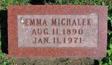 MICHALEK, EMMA - Linn County, Iowa   EMMA MICHALEK