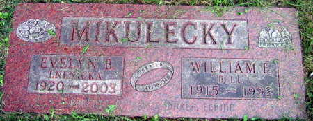 MIKULECKY, WILLIAM F. - Linn County, Iowa | WILLIAM F. MIKULECKY