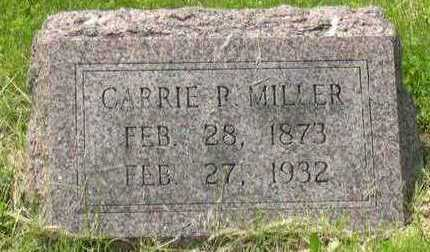 MILLER, CARRIE R. - Linn County, Iowa | CARRIE R. MILLER