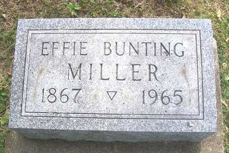 MILLER, EFFIE - Linn County, Iowa | EFFIE MILLER