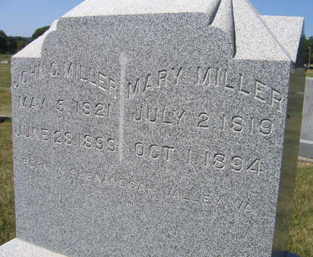 MILLER, MARY - Linn County, Iowa | MARY MILLER