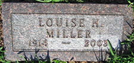 MILLER, LOUISE H. - Linn County, Iowa | LOUISE H. MILLER