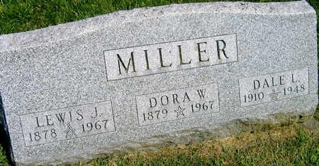 MILLER, DORA W. - Linn County, Iowa | DORA W. MILLER