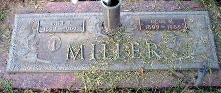 MILLER, ROSE M. - Linn County, Iowa   ROSE M. MILLER