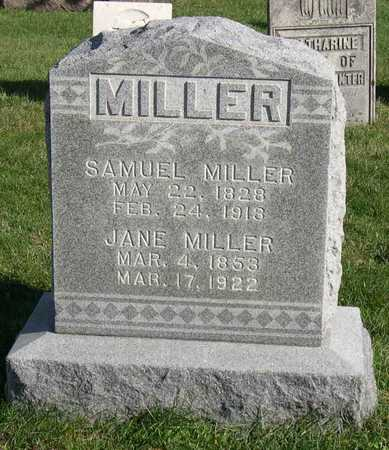 MILLER, JANE - Linn County, Iowa | JANE MILLER