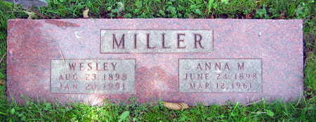 MILLER, ANNA M. - Linn County, Iowa | ANNA M. MILLER
