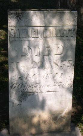 MILLETT, SAMUEL - Linn County, Iowa   SAMUEL MILLETT