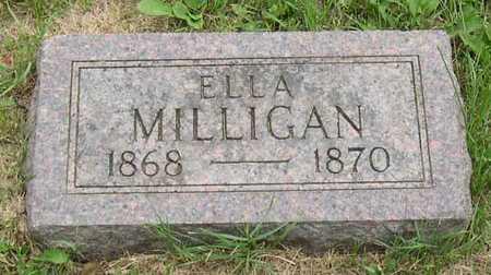 MILLIGAN, ELLA - Linn County, Iowa | ELLA MILLIGAN