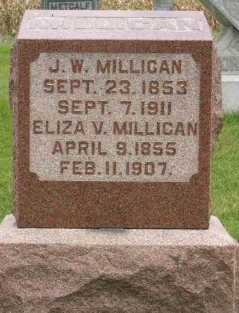 MILLIGAN, J. W. - Linn County, Iowa | J. W. MILLIGAN