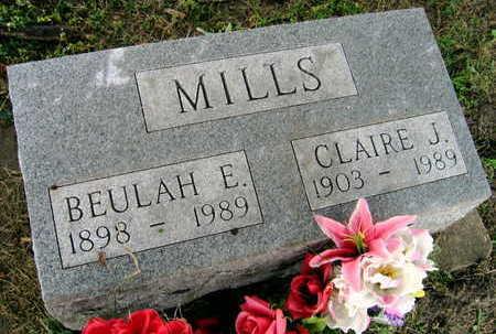 MILLS, CLAIRE J. - Linn County, Iowa | CLAIRE J. MILLS