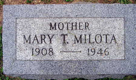 MILOTA, MARY T. - Linn County, Iowa | MARY T. MILOTA