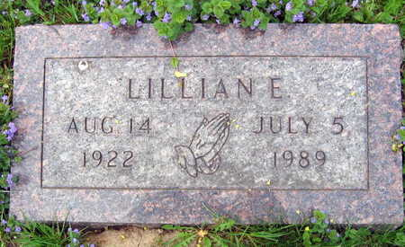 MINAR, LILLIAN E. - Linn County, Iowa | LILLIAN E. MINAR