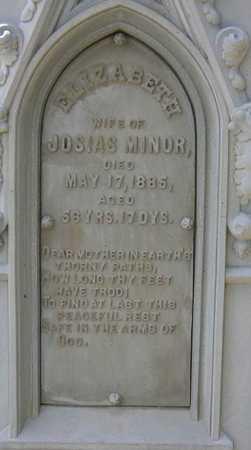 MINOR, ELIZABETH - Linn County, Iowa | ELIZABETH MINOR