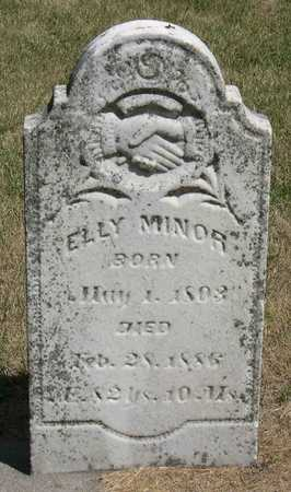 MINOR, ELLY - Linn County, Iowa | ELLY MINOR
