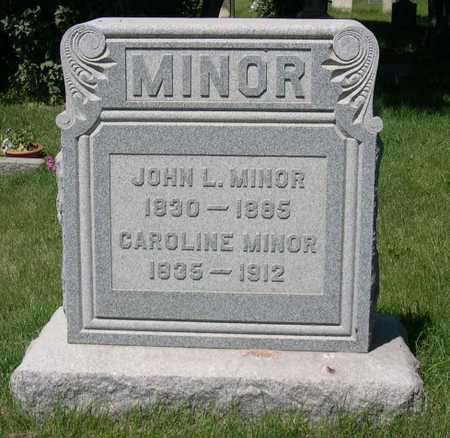 MINOR, JOHN L. - Linn County, Iowa | JOHN L. MINOR